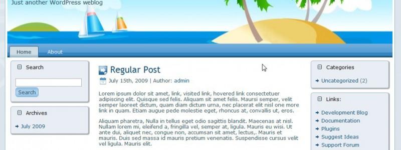 Island Two Palm